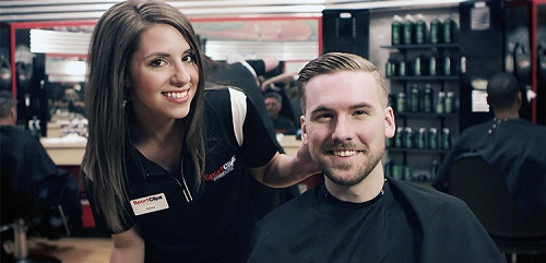 Sport Clips Haircuts of Southaven​ stylist hair cut
